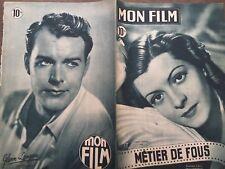"""MON FILM 1949 N 127 """" METIER DE FOUS """" avec  LISETTE LANVIN"""