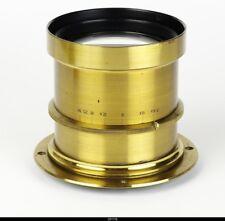 Brass Lens Jng Rich Knoll Laipzik Doppel Anastigmat Rigonar No7 4.5/360mm