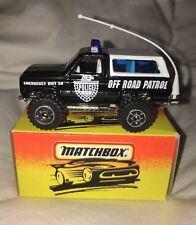 "Matchbox #50 Chevy Blazer ""Off Road Patrol""  NIB"