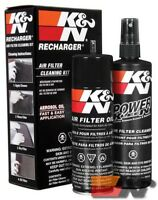 K&N Filter Care Service Kit Aerosol For RECHARGER KIT AEROSOL OIL K&N 99-5000