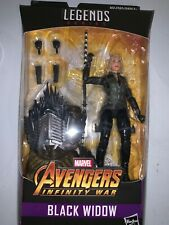 "Marvel Legends Avengers Infinity Black Widow 6"" Action Figure Cull Obsidian BAF"
