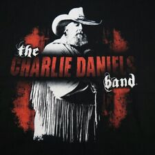 The Charlie Daniels Band Concert Tour Tee T Shirt Sz Mens Xl Country Western
