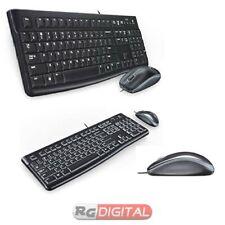 KIT TASTIERA E MOUSE USB Logitech DESKTOP MK120 920-002543
