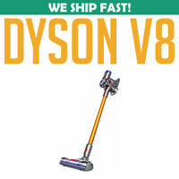 Dyson V8 Absolute Cordless Stick Vacuum Cleaner, Gold USED- NO POWER CORD
