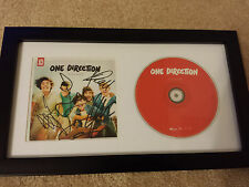 ONE DIRECTION Up All Night SIGNED AUTOGRAPHED FRAMED CD DISPLAY #A