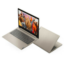 "NEW Lenovo IdeaPad 15.6"" HD i3-1005G1 3.4GHz 4GB RAM 128GB SSD Win 10 Almond"