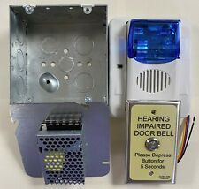 ADA Room Annunciator system-kit with 24VDC power supply, ie. Edwards 7005-G5