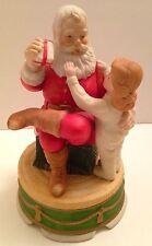 San Francisco Music Co. Musical Santa Statuette, We Wish You a Merry Christmas