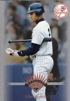 1997 DONRUSS / LEAF BASEBALL CARD # 200 - HOF DEREK JETER -  NEW YORK YANKEES