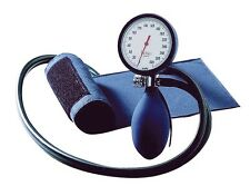 boso Clinicus II Blutdruckmeßgerät, Doppelschlauch, Klettmanschette blau