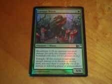 1x Foil - Carnage Wurm - Magic the Gathering MTG M13 2013