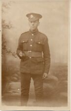"""Soldier,Studio Photograph"" by Howell & Sons,High Street,Chatham, 15/10/1916, RP"