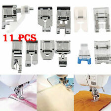 11 Pcs/Set Multi Function Domestic Sewing Machine Presser Foot Feet Accessories