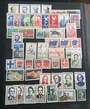 France année complète 1958 (2) neuf sans charnière 47 timbres