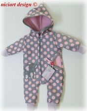NICIART♥BABY SOFTSHELL OVERALL / ANZUG WETTEROVERALL♥50,56,62,68,74,80,86,92♥