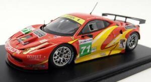 Fujimi 1/43 Scale Resin - TSM11FJ022 Ferrari F458 Italia GT2 LM 24H 2011