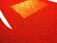 kompl. Teppichsatz für NSU Wankel Spider Schling Rot incl Kofferraumsatz teppich