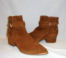 Jeffrey Campbell Women's Continental Suede Ankle Boot Retail $228 size 7
