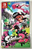 SPLATOON 2 Brand New Factory Sealed NINTENDO SWITCH Game USA Release Two