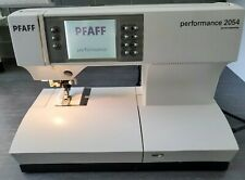 Pfaff Performance 2054 Computerized Sewing Machine IDT +Feet~ Access~Case Used