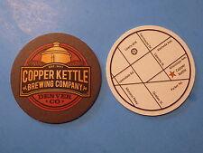 Beer Coaster Mat ~ COPPER KETTLE Brewing ~ GABF Gold Winner in Denver, Colorado