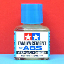Tamiya #87137 Cement for ABS Plastic [40ml]