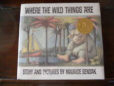 WHERE THE WILD THINGS ARE, Maurice Sendak, SIGNED 1991 re-issue HCDJ