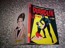DIABOLIK ANNO V ORIGINALE N.14 DEL 1966 OTTIMO TIPO NERI KRIMINAL SATANIK SADIK