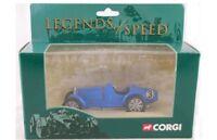 CORGI 00202 LEGENDS OF SPEED RACING CAR  BLUE diecast model blue body