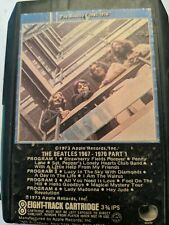 The Beatles 1967 To 1970 Part 1 8 Track Tape