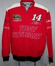 Nascar Jacket Mens Tony Stewart #14 Sprint Cup Racing Office Depot Mobil 1 Large