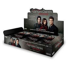 2016 Cryptozoic Vampire Diaries Season 4 Trading Cards Box 24 Packs New & Sealed
