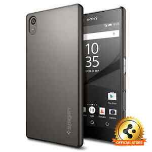 Spigen®For Sony Xperia Z5 Case [Thin Fit] Ultra Slim Lightweight Case Cover