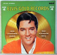 "12"" Vinyl ELVIS PRESLEY - Elvis´ Gold Records Vol.4"