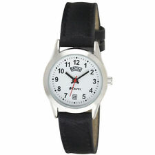 Ravel Ladies Easy Read Watch with pu Croc Leather + Day & Date Chrome R0706.20.2