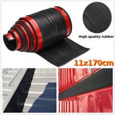 170cm Universal Black Truck Bed Tailgate Gap Cover Filler Seal Shield Lip Cap