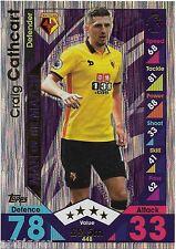 2016 / 2017 EPL Match Attax Man of the Match (448) Craig CATHCART Watford