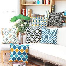 Art Linen Blend Decorative Cushions