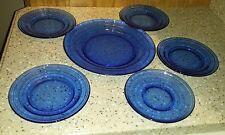 Lot of 5 Cobalt Blue Dinnerware