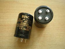 Snap In Aluminium Electrolytic Cap 100uf 400V    ALP20A101B400   2pcs   Z31