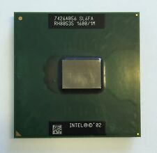 Intel Pentium M CPU 1.60 GHz / 1M / 400 Mhz Mobile Processor SL6FA