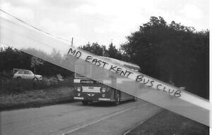 EAST KENT BUS PHOTOGRAPH AEC TFN 436 LENHAM HEATH
