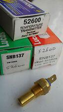 52600 Transmisor De Temperatura Interruptor se adapta a modelos de Ford Escort/Fiesta Década de 1980