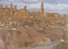 Roger FORISSIER (1924-2003) HsT 1948 Paysage Nle Ecole de Paris Jeune Peinture