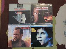 Lot of 4 Laserdiscs!Die Hard; Die Harder; Die Hard W/ a Vengeance; Paul Simon
