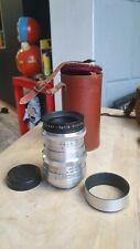 Rare! Meyer-Optik Gorlitz Trioplan Red V f/2.8 100mm Lens M42 Unique Bokeh!