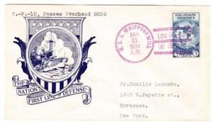 TRANSOCEAN RECORD FLIGHT-AAMC#1200-COMMEMORATIVE-U.S.S. WHIPPOORWIL
