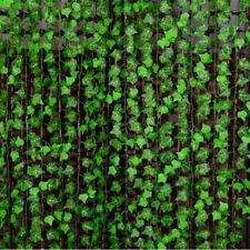 7.8ft Artificial Ivy Vine Leaf Garland Plant Fake Foliage Flowers Home Decor DIY
