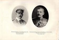 BOER WAR  PORTRAITS -  STEPHENSON  and MacDONALD  - THE TIMES HISTORY  (1905)