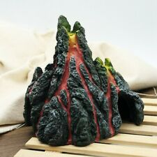 [EL] Resin Aquarium Decoration Simulation Volcano Fish Tank Eruptive model